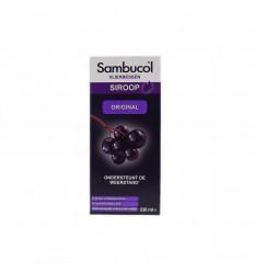 Sambucol Vlierbessensiroop original 230 ml | Superfoodstore.nl