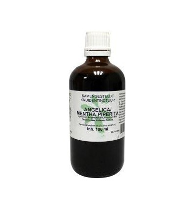 Natura Sanat Angelica / mentha piperita compl tinctuur 100 ml |