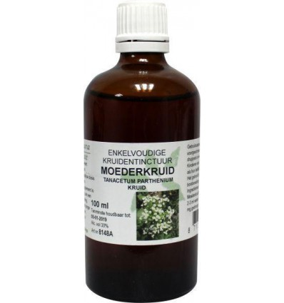 Natura Sanat Tanacetum parthenium herb/moederkruid tinctuur 100 ml | € 11.17 | Superfoodstore.nl