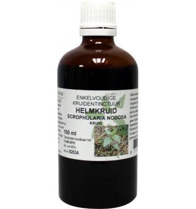 Natura Sanat Scrophularia nodosa / helmkruid tinctuur 100 ml  