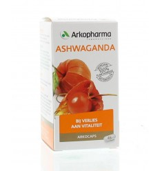 Arkocaps Ashwaganda 45 capsules | Superfoodstore.nl
