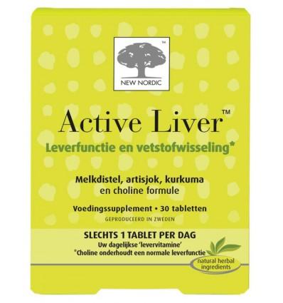 New Nordic Active liver 30 tabletten   € 23.49   Superfoodstore.nl
