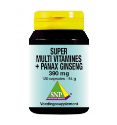 SNP Super multi vitamines panax ginseng 120 capsules |