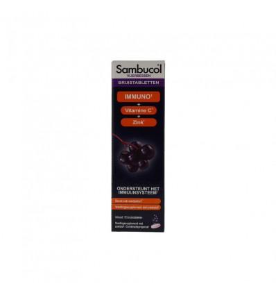 Sambucol Immuno forte bruistabletten suikervrij 15