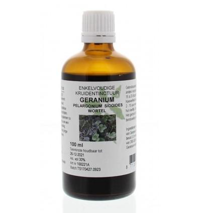 Natura Sanat Pelargonium / geraniumwortel tinctuur 100 ml |