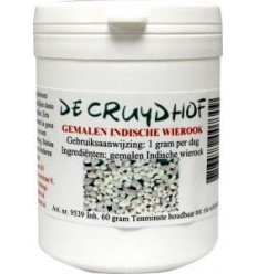 Cruydhof Indische wierook poeder 60 gram | Superfoodstore.nl