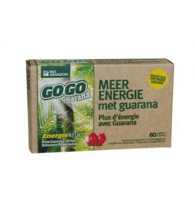 Rio Amazon Gogo guarana 500 mg maandverpakking 60 capsules  