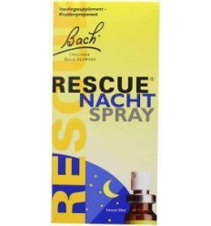 Bach Rescue remedy nacht spray 20 ml | € 20.23 | Superfoodstore.nl