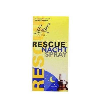Bach Rescue remedy nacht spray 20 ml | Superfoodstore.nl
