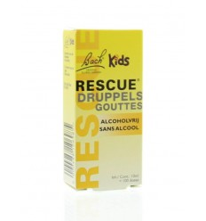 Bach Rescue remedy kids druppels 10 ml | Superfoodstore.nl