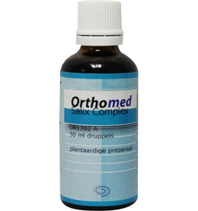 Orthomed Salix complex 50 ml | Superfoodstore.nl