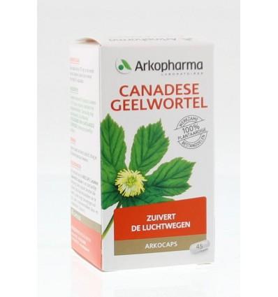 Fytotherapie Arkocaps Canadese geelwortel 45 capsules kopen