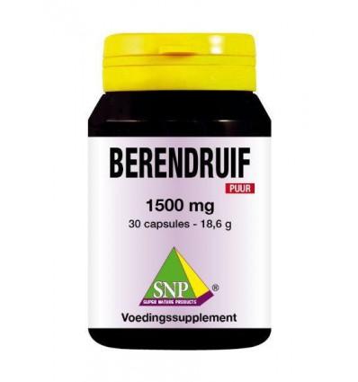 Fytotherapie SNP Berendruif 1500 mg puur 30 capsules kopen
