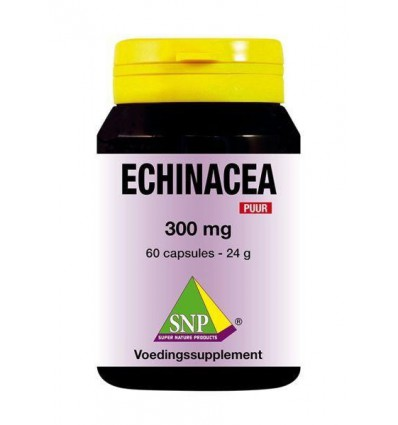 SNP Echinacea 300 mg puur 60 capsules | € 13.69 | Superfoodstore.nl