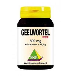 SNP Geelwortel curcuma 500 mg puur 60 capsules  