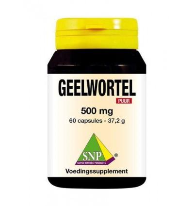 SNP Geelwortel curcuma 500 mg puur 60 capsules | € 20.79 | Superfoodstore.nl