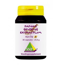 SNP Panax ginseng extract & royal jelly 700 mg 30 capsules |