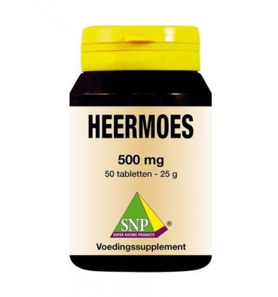 SNP Heermoes 500 mg 50 tabletten | € 13.69 | Superfoodstore.nl