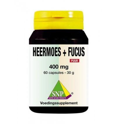 SNP Heermoes & fucus 400 mg puur 60 capsules | Superfoodstore.nl