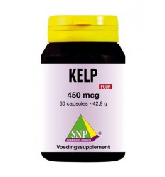 SNP Kelp 450 mcg puur 60 capsules | € 20.79 | Superfoodstore.nl
