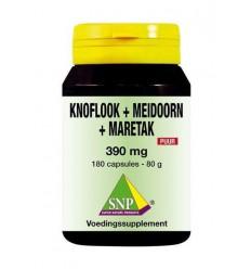 Fytotherapie SNP Knoflook-meidoorn-maretak 390 mg puur 180