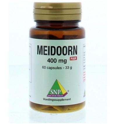 SNP Meidoorn 400 mg puur 60 capsules   € 13.91   Superfoodstore.nl