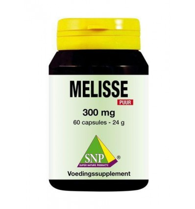 SNP Melisse 300 mg puur 60 capsules | € 13.91 | Superfoodstore.nl
