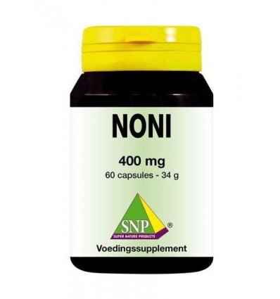 SNP Noni 400 mg 60 capsules | € 13.69 | Superfoodstore.nl
