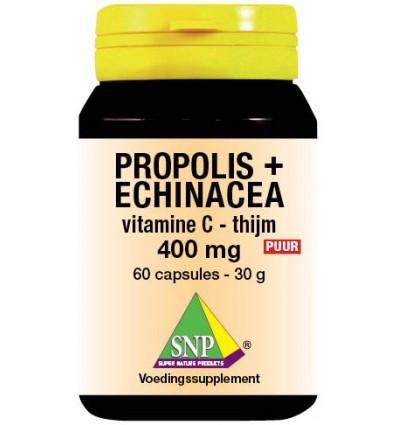 Propolis SNP & echinacea& thijm& vitamine C 400 mg puur 60 capsules kopen