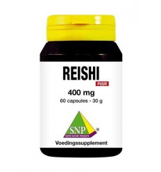 SNP Reishi 400 mg puur 60 capsules | Superfoodstore.nl