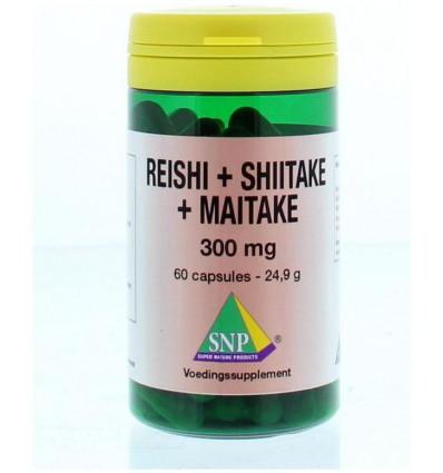 SNP Reishi shiitake maitake 300 mg 60 capsules |