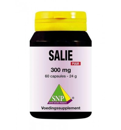 SNP Salie 300 mg puur 60 capsules | Superfoodstore.nl
