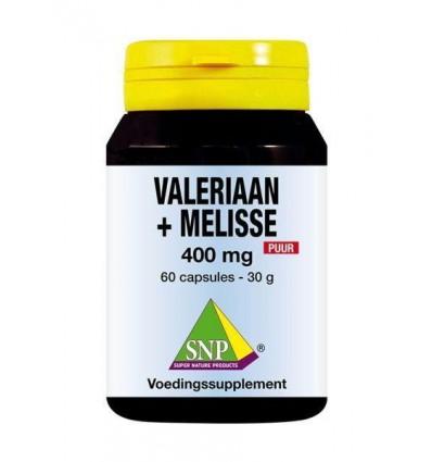 SNP Valeriaan melisse 400 mg puur 60 capsules |