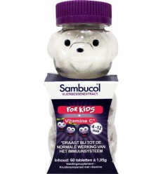 Sambucol Kauwtabletten voor kids 60 kauwtabletten | € 9.88 | Superfoodstore.nl