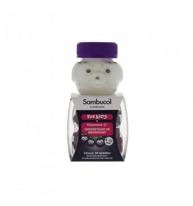 Sambucol Kauwtabletten voor kids 60 kauwtabletten |