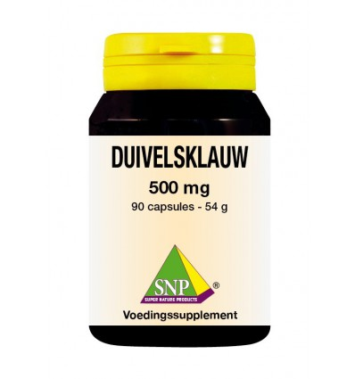 SNP Duivelsklauw 500 mg 90 capsules | € 25.26 | Superfoodstore.nl