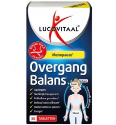 Lucovitaal Overgang balans 30 tabletten | Superfoodstore.nl