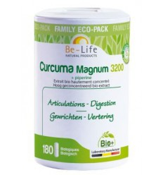 Be-Life Curcuma magnum 3200 & piperine bio 180 softgels  