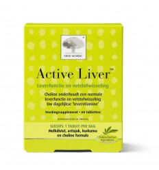 New Nordic Active liver 60 capsules | Superfoodstore.nl
