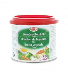 Morga Groentebouillon pasteus 200 gram | Superfoodstore.nl