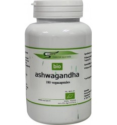Surya Bio ashwagandha 180 capsules | € 26.83 | Superfoodstore.nl