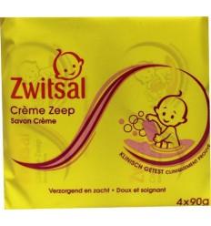 Zwitsal Zeep 4-pak 360 gram | Superfoodstore.nl