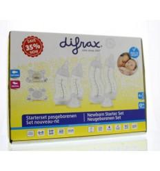 Difrax Starterset pasgeborenen 1 set | Superfoodstore.nl