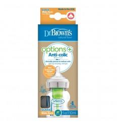 Dr Brown's Options+ brede halsfles glas 150 ml |