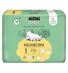 Muumi Baby Eco luiers maat 1 newborn 2-5 kg 25 stuks |