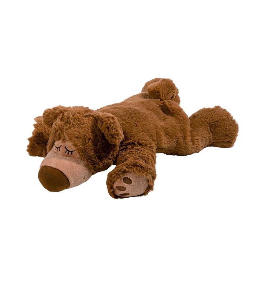 Warmies Sleepy bear licht bruin