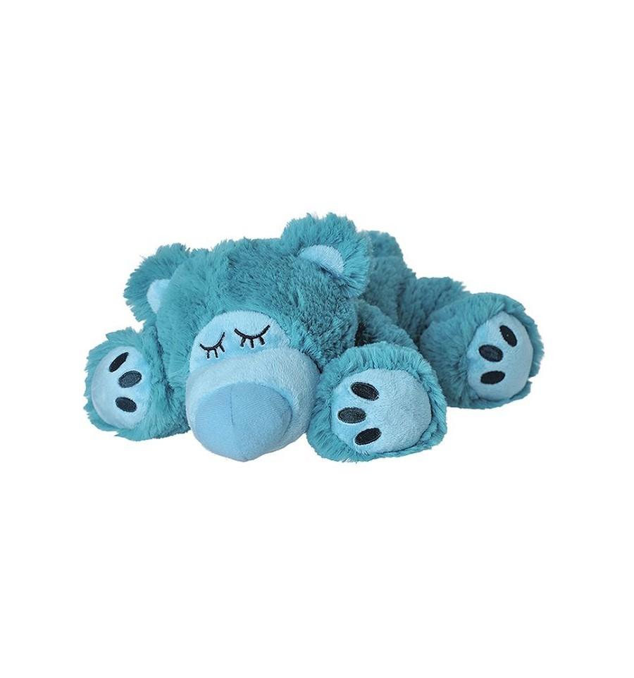 Warmies Sleepy bear turquoise