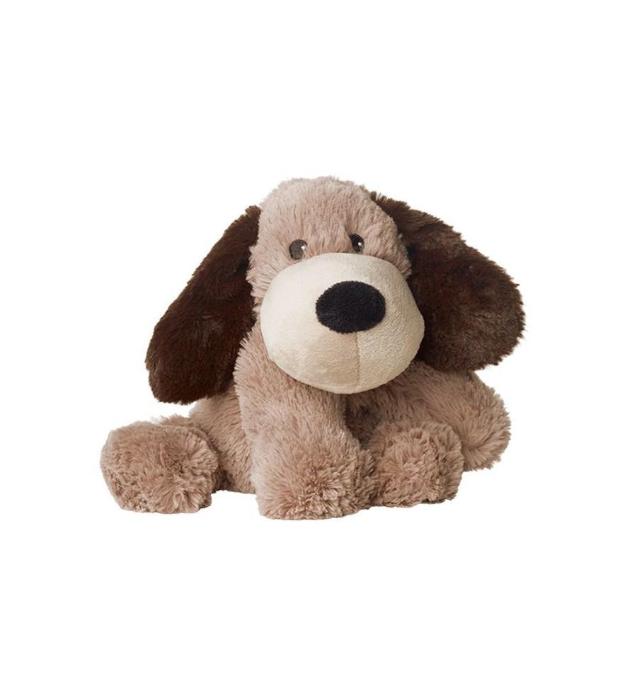 Warmies Hond donkerbruin gary