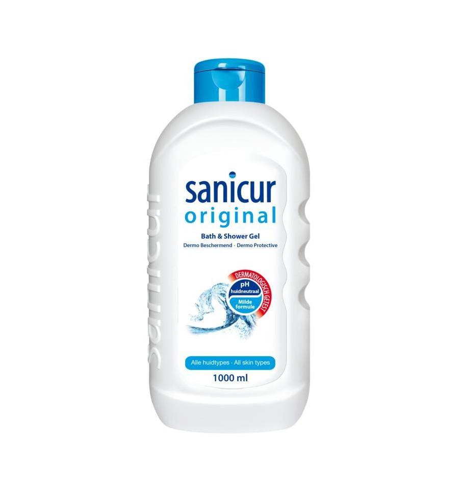 Sanicur Douche gel original 1 liter