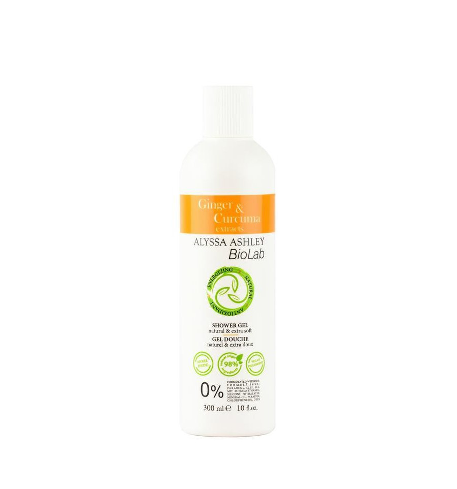 Alyssa Ashley Biolab ginger/curcuma shower gel 300 ml